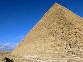 Pyramid of Khafre (Chephren), Egypt — Stock Photo