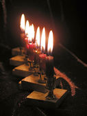Candles of Chanukkah — Stock Photo