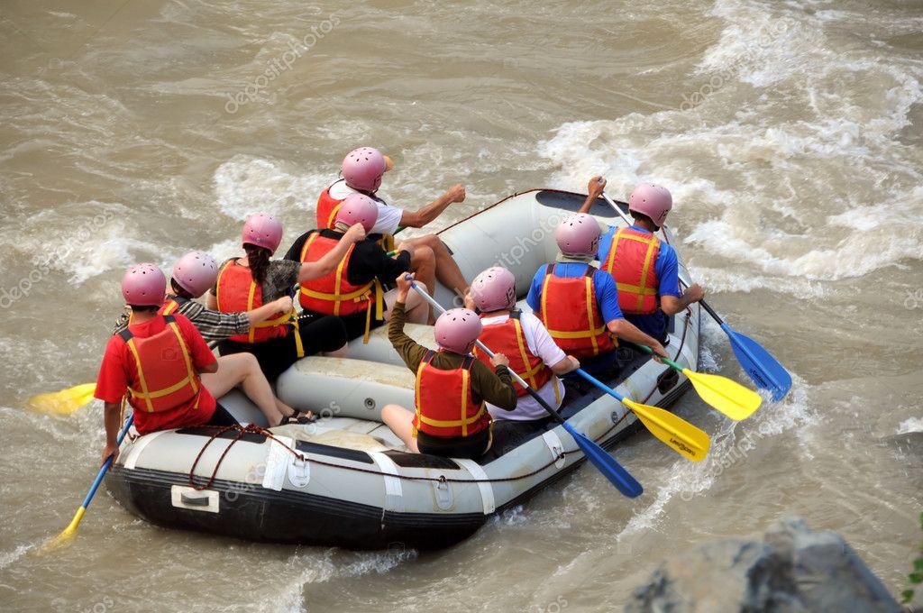 водное плавание на лодках