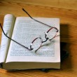 Royalty-Free Stock Photo: Book and glasses