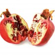 Cuted pomegranate — Stock Photo