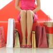 Woman shopping — Stock Photo #1182391