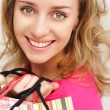 Woman shopping — Stock Photo #1189638