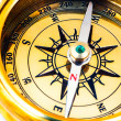 Old style brass compass — Stock Photo #1192118