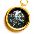 Royalty-Free Stock Photo: Old style brass compass