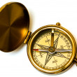 Old style brass compass — Stock Photo #1192182