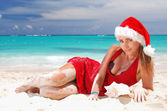 Caribbean christmas — Stock Photo
