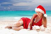 Caribbean christmas — Stok fotoğraf