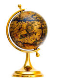 Old style globe — Stock Photo