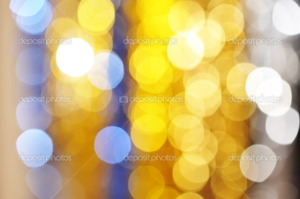 Defocused light dots bokeh background — Stock Photo #1190366