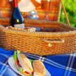 Picnic sandwiches - Foto Stock