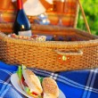 Picnic sandwiches - Stockfoto