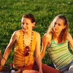 Girls on picnic — Stock Photo #1200599