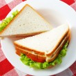 Royalty-Free Stock Photo: Two sandwiches