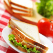 Royalty-Free Stock Photo: Sandwich with ingredients