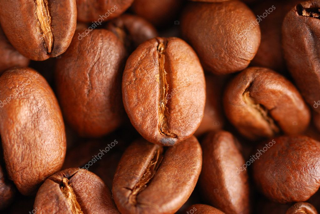 Coffee beans background close up — Stock Photo #1200806
