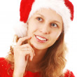 Santa Girl — Stock Photo #1215744