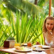 Tropical breakfast — Stock Photo #1216679