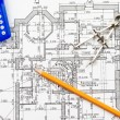 Blueprint — Stock Photo #1217842