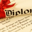 Royalty-Free Stock Photo: Diploma