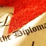 Diploma — Stock Photo