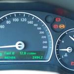 Car gauge — Stock Photo