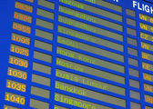 Airline Schedule — Stock fotografie