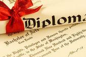 Diploma — Fotografia Stock