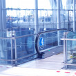 Travelator in airport - ストック写真