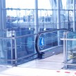 Travelator in airport — Stock Photo