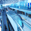 Travelator in airport - Foto Stock