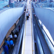 Travelator in airport - Stock Photo