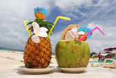 Tropical cocktails — Fotografia Stock