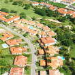 Residential district aerial view — Stockfoto #1539363