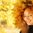 ragazza autunnale — Foto Stock