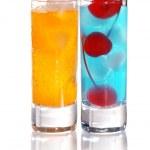 Shot drinks — Stock Photo