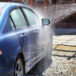 Foto de Stock  : Car washing