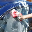 Car washing — Stock Photo
