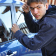 Stock Photo: Car thief