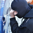 Car thief — Stockfoto