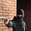 Stock Photo: Gunman