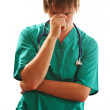 Tired Doctor — Stock Photo