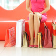 Woman shopping — Stock Photo #1543911