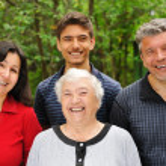Three generations — Stock Photo #1544078
