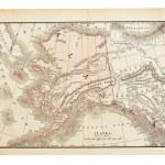Old Alaska map — Stock Photo