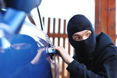 Car thief — Stock Photo