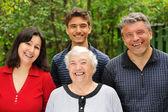 Three generations — Stock Photo