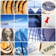 Business collage — Stock Photo #1571287