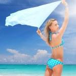 Woman with sarong — Stock Photo #1571650