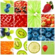 Royalty-Free Stock Photo: Fruit collage